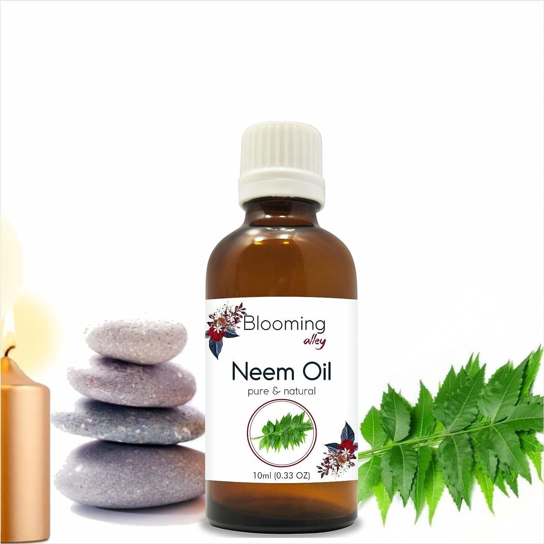 エコー出しますカスケードNeem Oil (Azadirachta Indica) Essential Oil 10 ml or 0.33 Fl Oz by Blooming Alley