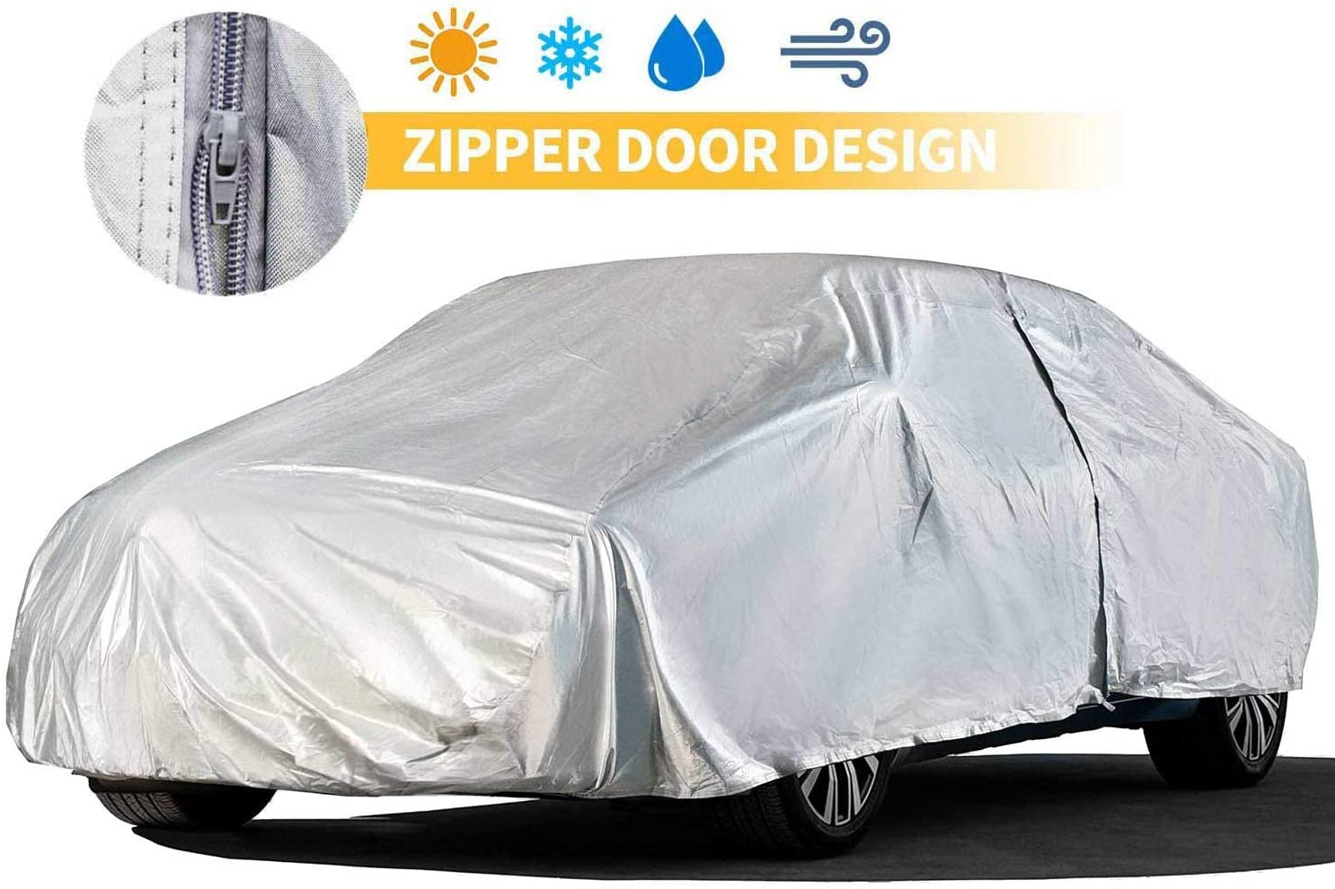 Sedan Car Cover for UV Resistant Driv Outdoor 228 Inch Finally popular New products, world's highest quality popular! brand