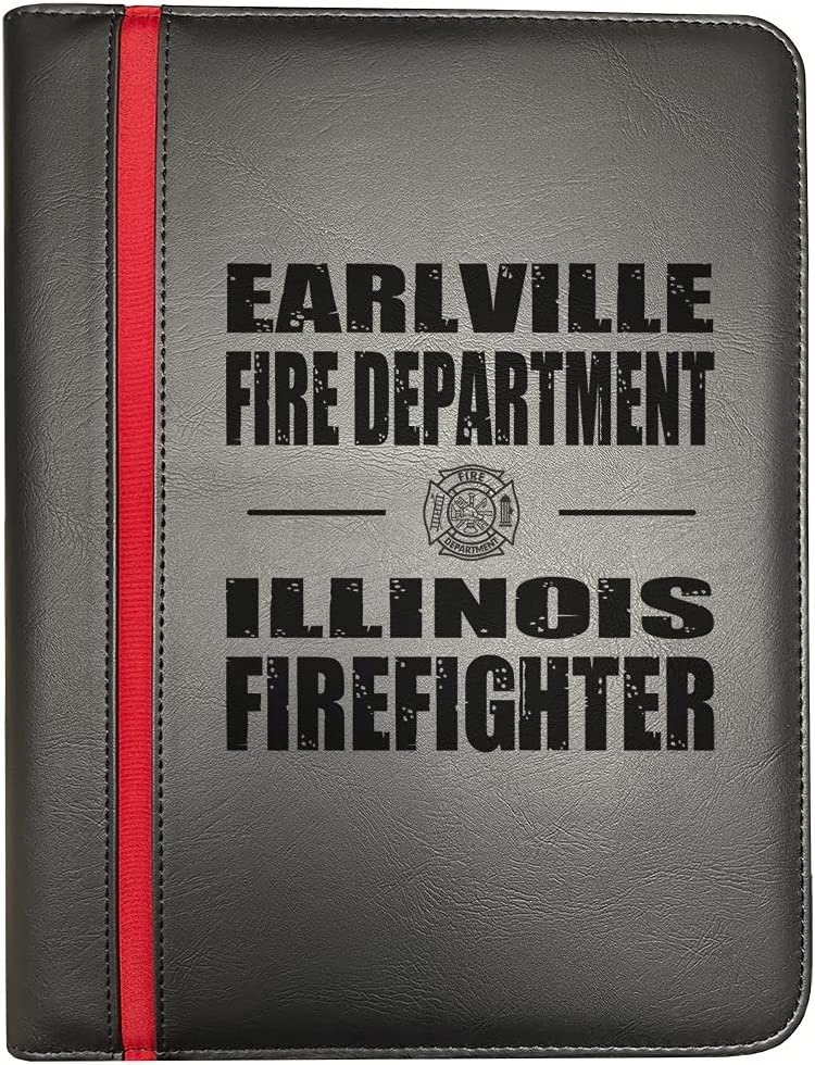 Earlville Large special price !! Oklahoma City Mall Illinois Fire Departments Firefighter Line Thin Red Fi