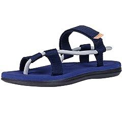 3f1605720cbd9 Leisurely Pace Men   Women Arch Support Strap Flat Sandals Li .