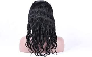 100% real human hair lace frontal wigs nice loose curly with natural hair line for women 130% density (20inch)