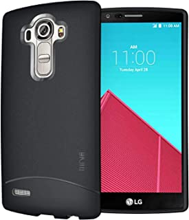 LG G4 Case, TUDIA Full Matte Arch TPU Bumper Protective Case for LG G4 (Black)