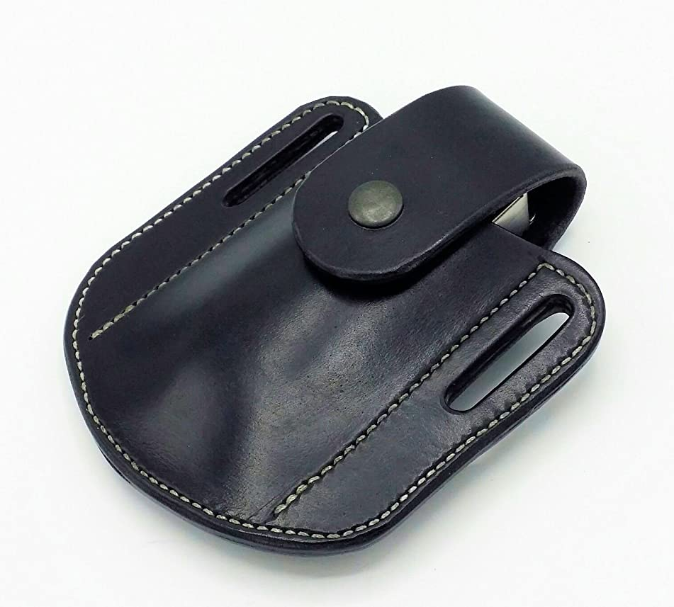 Leatherman - Raptor Shears Scissors Leather Sheath Case Holster with Snap Strap Closure, Black