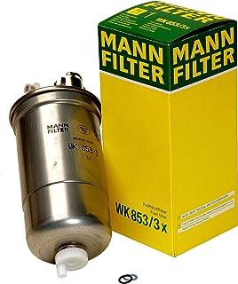 فلتر وقود WK 853/3 X من مان-فيلتر (عبوة من 2)