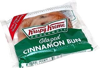 Krispy Kreme Glazed Cinnamon Bun (48 Ounce - Pack of 12)