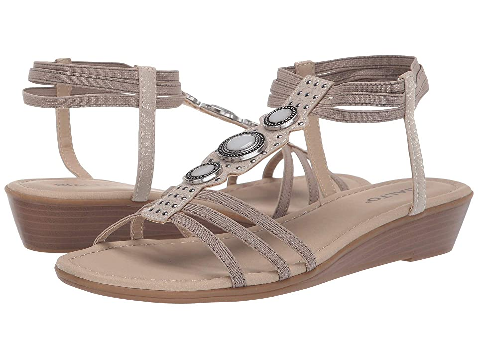 Rialto Georgy (Taupe Metallic Smooth) Women