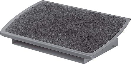 3M Ergonomic Adjustable Footrest, Grey, 22 Inches Wide, (FR530CB)