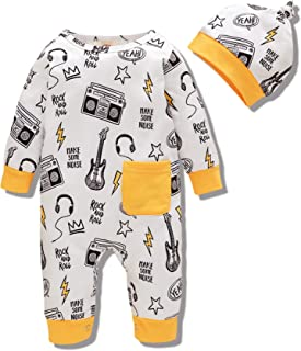 Duduai Baby Clothes Unisex Baby Boy Clothing Onesies Toddler Girl Romper Outfit Spring