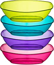 Best pink plastic serving bowls Reviews