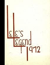 (Reprint) 1972 Yearbook: Robert E. Lee High School, Tyler, Texas