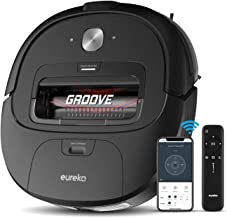 Eureka Groove Robot Vacuum Cleaner, Wi-Fi Connected, App, Alexa & Remote Controls, Self-Charging, NER300