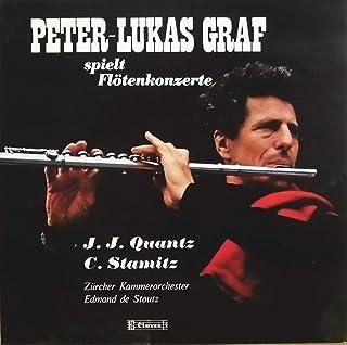 クヴァンツ、シュターミッツ:フルート協奏曲 / Peter Lukas Graf, Edmund de Stoutz, Zuricher Kammerorchester, P808