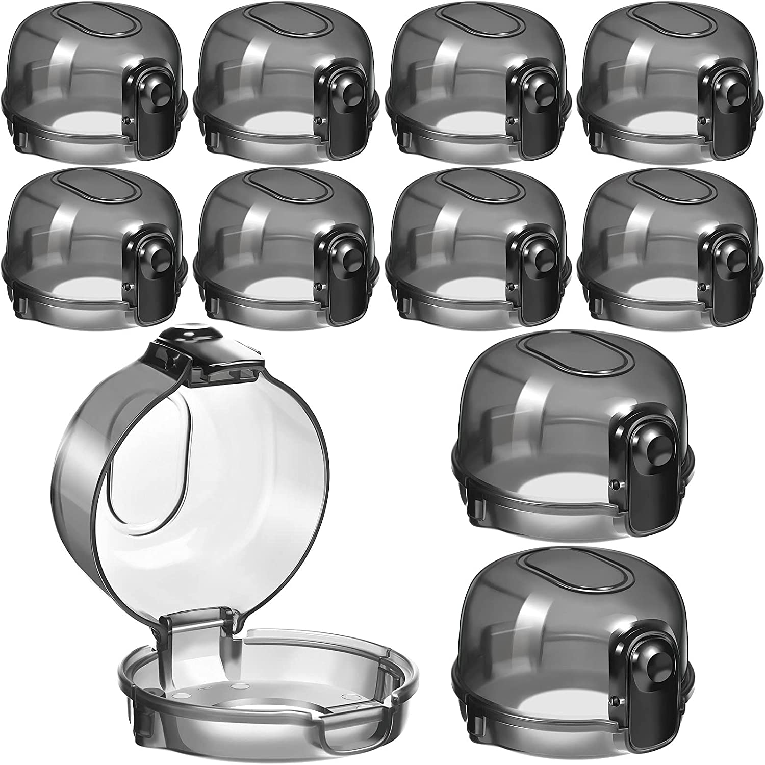 10 Pieces Kitchen Stove Knob Covers, Child Safety Gas Stove Knob Covers, Stove Knob Covers Protection Locks for Kids Child Proofing