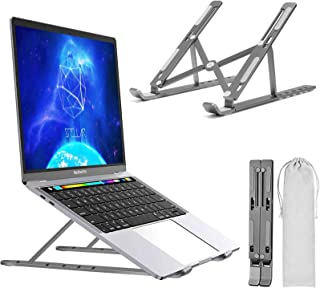 Laptop Stand, Adjustable Portable Laptop Holder,Aluminum Alloy Desktop Mount Compatible with 10-17 Inch MacBook PC-Noteboo...