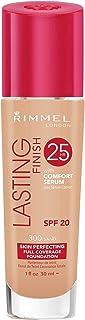 Rimmel Lasting Finish Full Coverage Foundation SPF 20 PA++, Sand, 30ml
