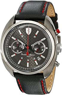 Ferrari Men's 830209 Formula Sportiva Analog Display Quartz Black Watch