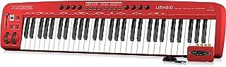 $178 » Behringer U-Control UMX610 61-Key USB/MIDI Controller Keyboard with Separate USB/Audio Interface