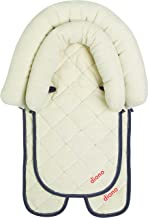 Diono 2-in-1 Head Support, for Children Up to 15 lbs, Ivory