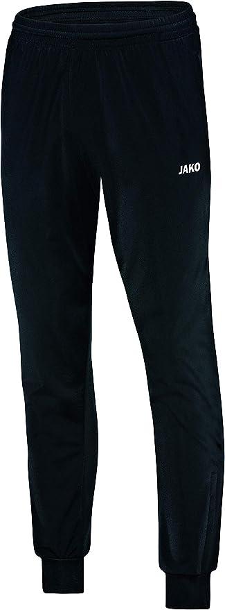 JAKO Präsentationshose Herren Classico Jogginghose Trainingshose schwarz 6550