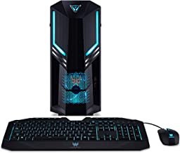 Acer Predator Orion 3000 PO3-600-UR18 Desktop, 8th Gen Intel Core i5-8400, GeForce GTX 1060, 8GB DDR4 + 16GB Optane Memory, 1TB HDD, Win 10