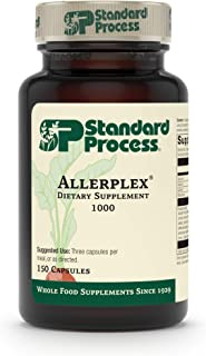 Standard Process Allerplex - Whole Food Liver Support, Lung Health and Mucus Mover Supplement with Vitamin C, Magnesium, C...