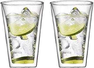 BODUM ボダム CANTEEN キャンティーン ダブルウォール グラス 400ml 2個セット 【正規品】 10110-10
