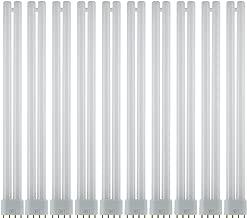 Sunlite FT36DL/835/10PK FT 36W 16 Inch/1.3 Foot Twin Tube Fluorescent Ceiling Light Fixtures, 4-Pin (2G11) Base, 3500K Neutral White, 10 Pack, 3500K-Neutral