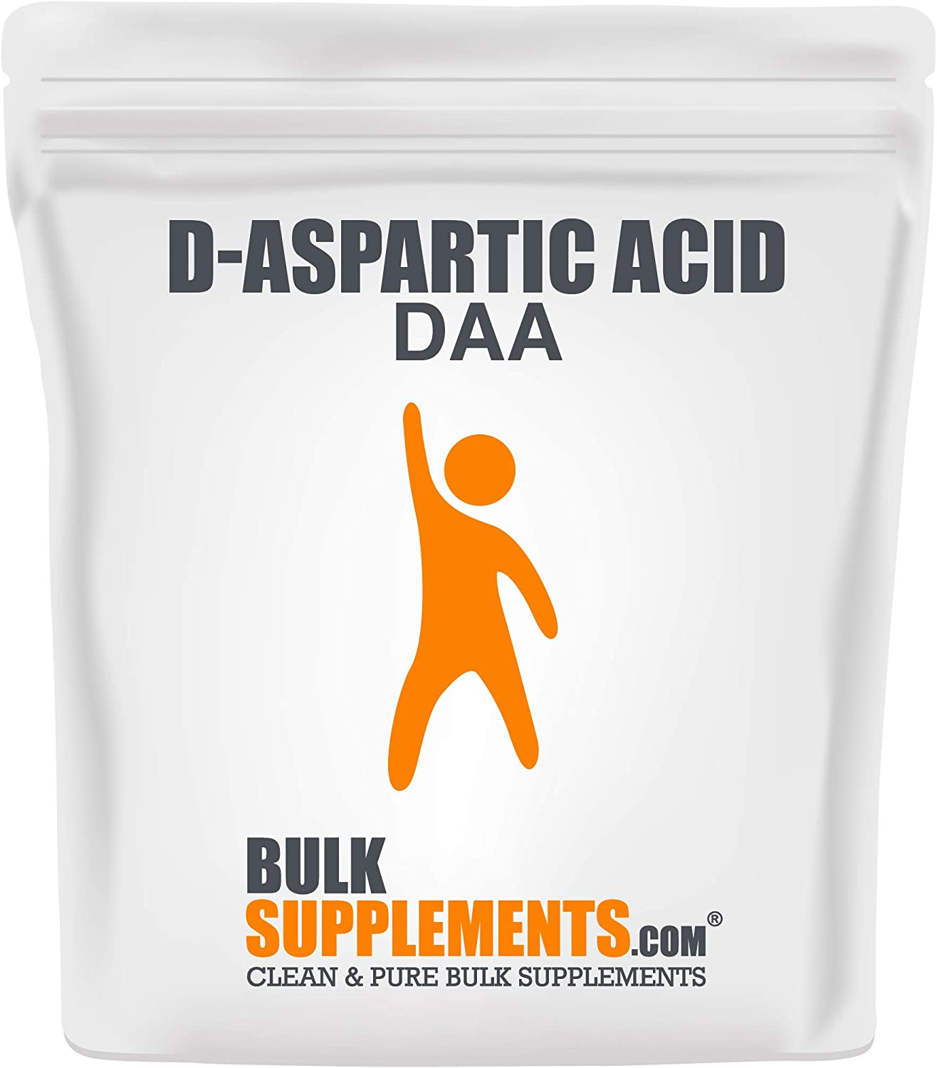 BulkSupplements.com Free shipping / New D-Aspartic Factory outlet Acid DAA Muscle - Buildi Powder