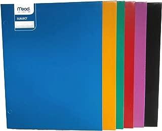Mead Laminated Folder 9 x 12 (33198)- 6pk Assorted