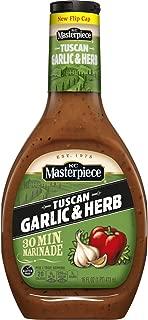 KC Masterpiece Tuscan Garlic & Herb Marinade, 16 Ounces (Pack of 6)