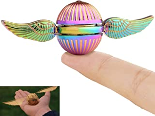 MAYBO SPORTS Wiitin Harry Potter Fidget Hand Spinner Toy Made by Metal, The Golden Snitch Used in Quidditch, Mixed Color