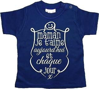 Dirty Fingers Maman Je t'aime Aujourd'hui T-Shirt bébé