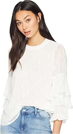 Tear Drop Ruffle Top