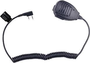 KS K-STORM Remote Shoulder Handheld Radio Speaker Microphone for 2 pin Kenwood Baofeng Walkie Talkie (Kenwood)