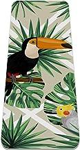 BestIdeas Yoga Mat Twin Toucans Vogels Tropische Bladeren voor Yoga, Pilates, Vloeroefening Mannen Vrouwen Meisjes Jongens...