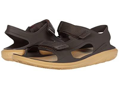 Crocs Swiftwater Expedition Sandal (Espresso/Tan) Men