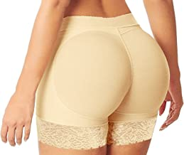 HelloTem Women Seamless Butt Lifter Padded Butt Hip Enhancer Shaper Panties Underwear