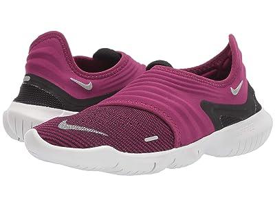 Nike Free RN Flyknit 3.0 (True Berry/Metallic Silver/Black) Women