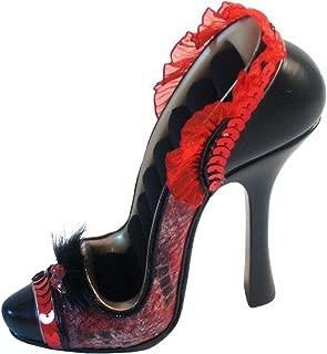 Gift Craft Red Snake High Heel Shoe Ring Holder