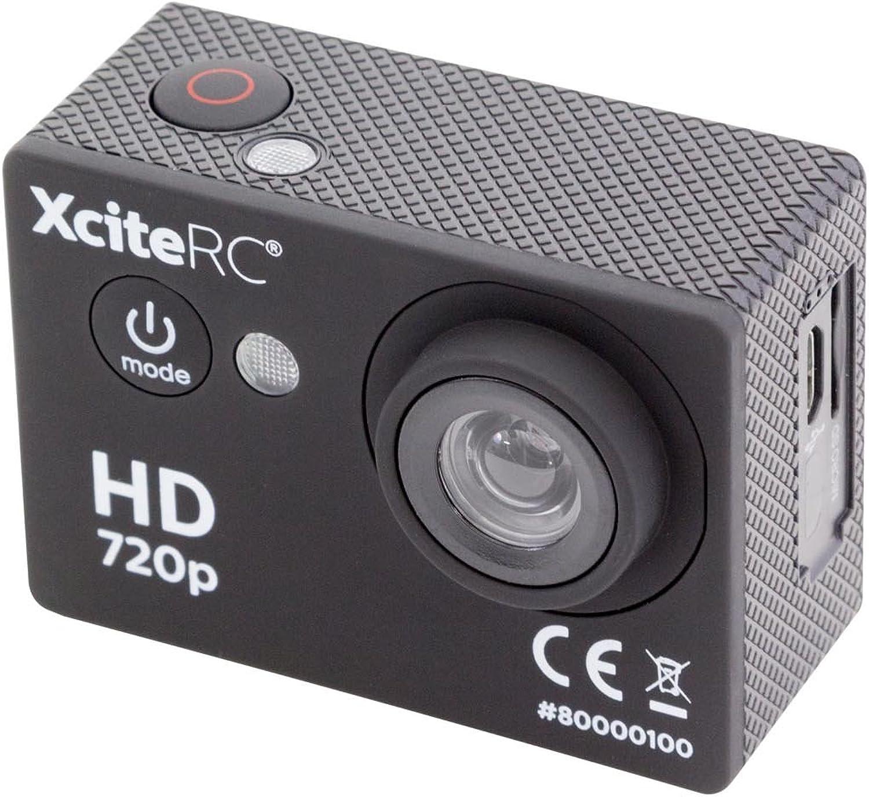 XciteRC 80000100 Action HD 5 MP Kamera, black