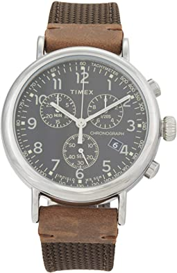 41 mm Timex Standard Chronograph Low Lead Brass Case Two-Piece Quick Release