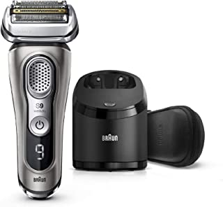 Braun Electric Razor for Men, Series 9 9385cc, Electric Shaver, Pop-Up Precision Trimmer, Rechargeable, Cordless Foil Shav...