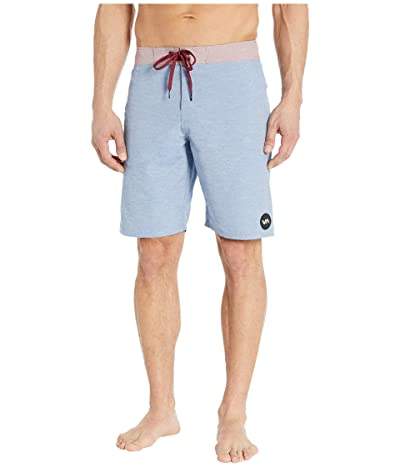 RVCA Middle Trunks 19 (Bright Blue) Men