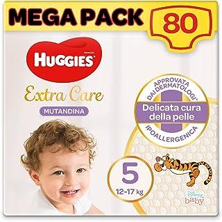 Huggies Extra Care luierbroekjes, maat 5 (12 - 17 kg), 80 stuks