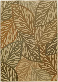 Tommy Bahama Voyage 5507W Abstract Beige/ Multi Area Rug (1'10