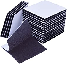 Punti con velcro autoadesivo Nero o Bianco Premium in velcro per incollare chiusi da fissare etc.// ovale 12/X 33/mm | punti con velcro per fissare Ner Spessore 1,3/mm quantit/à a scelta Easy Coins /& Velcro Adesivo Forte
