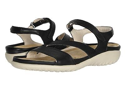Naot Etera (Soft Black Leather) Women