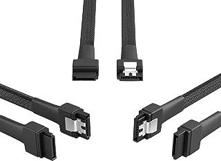 KabelDirekt 3X 30cm câble de données SATA 3 6 Gbit/s 7 Broches