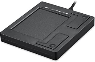 ペリックス PERIPAD-501 II 有線USBタッチパッド - ブラック - サイズ:86x75x11mm - タッチパッド - 業務用に最適 - スクロールホイール付【正規保証品】
