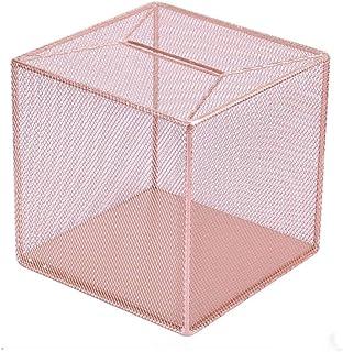 Piggy Bank for Kids Metal Grid Piggy Bank Seeing Creative Adult Money Box | Piggy Bank | Metal Coin Bank Money Box ( Color...